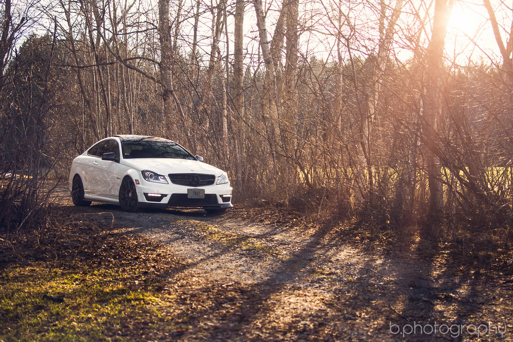 AMG C63 Coupe on HRE Wheels