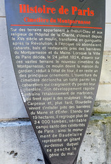 Photo of Charles Baudelaire brown plaque
