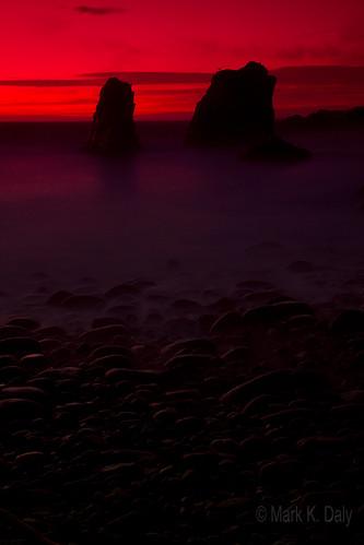 california sunset bigsur garrapata