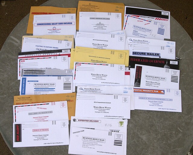Drowning in Junk Mail – How to Opt-out of Junk Mail from