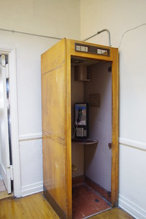Still in use today-phone booth Royal Palms Apts.