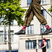 Tightrope walking In Brussels by Alessandro Vecchi