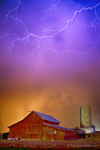 nature weather night clouds canon landscape spring colorado colorful country farming environment farms lightning agriculture lightening storms climate hdr monsoons thunderstorms redbarns lightningman jamesinsogna