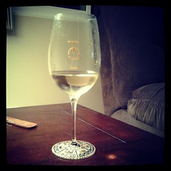 My glass from Thomas O\'Neil Cellars