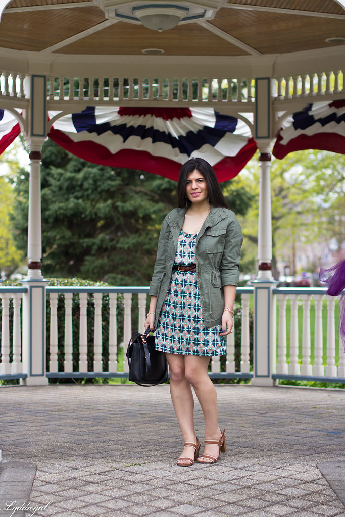 geo floral dress, green jacket.jpg