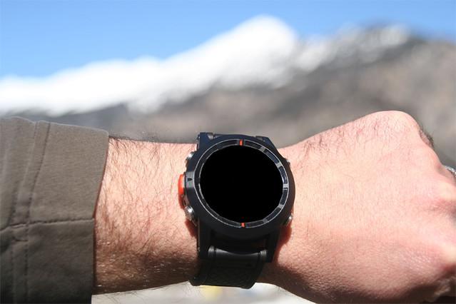 La montre qui n'affiche rien