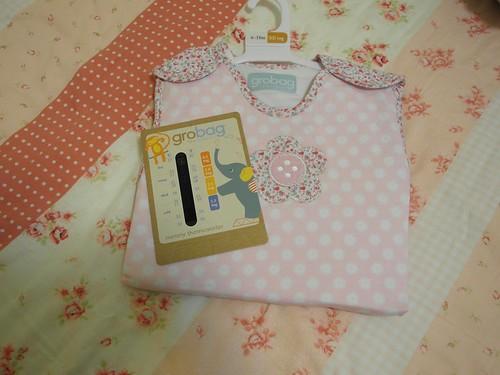 Grobag 防踢睡袋會送一個簡易型的溫度計,方便爸爸媽媽掌握寶寶穿衣的狀況@Bloom & Grow 產品試用