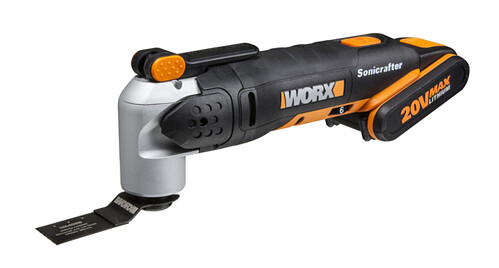 The new WORX 20v Sonicrafter has 39 accessories