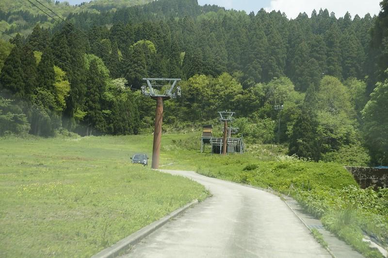 白山撮影スポットを訪ねて 中宮温泉スキー場