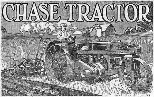 Chase Tractor ad