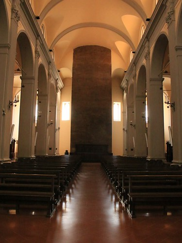 Matelica: il campanile visto dall'interno