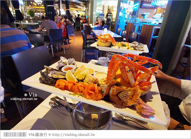【雪梨美食】必吃~Pancakes On The Rocks知名鬆餅店+超美達令港夜景29
