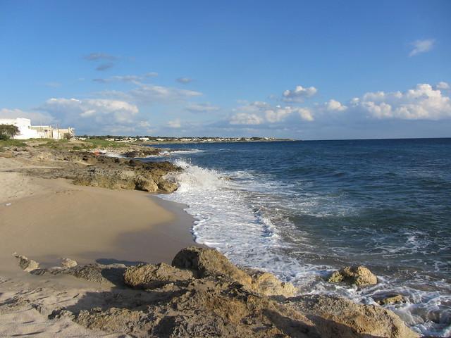 kleiner Strand in Mancaversa
