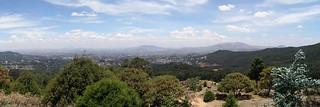 Auf dem Entoto Hill hat man eine schöne Aussicht über Addis Abeba