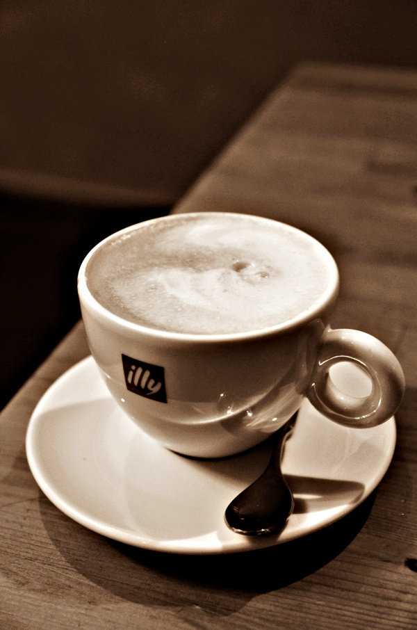 A Cup of Illy Coffee