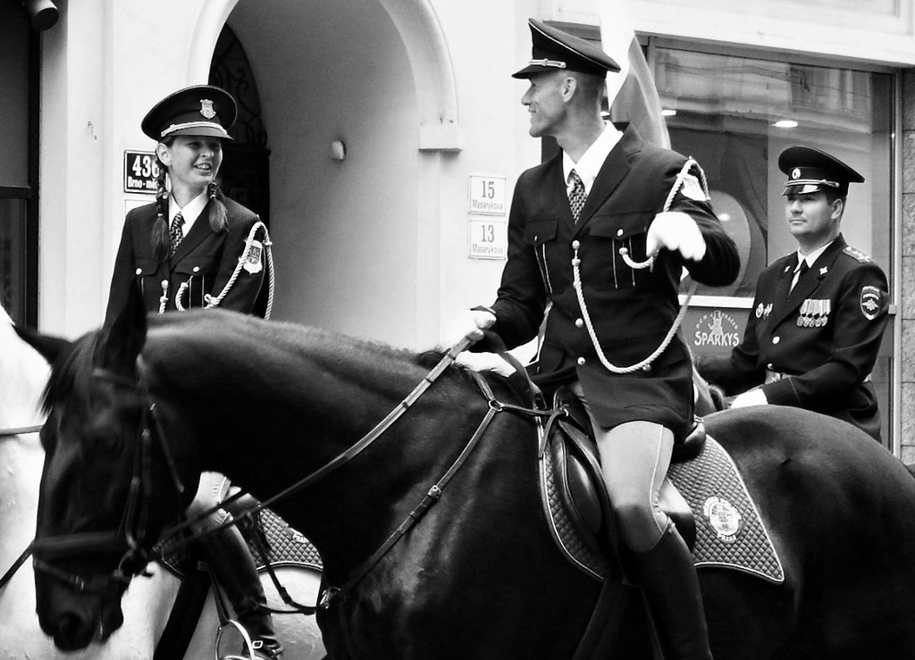 International Championship of Police Horse Riding - Opening Ceremony 06 (Russians)
