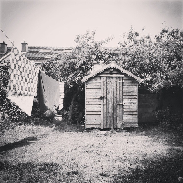The old shed...