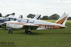 G-ASUD PIPER PA-28 160 CHEROKEE B 28-1654 PRIVATE -Sywell-20130601-Alan Gray-IMG_9181