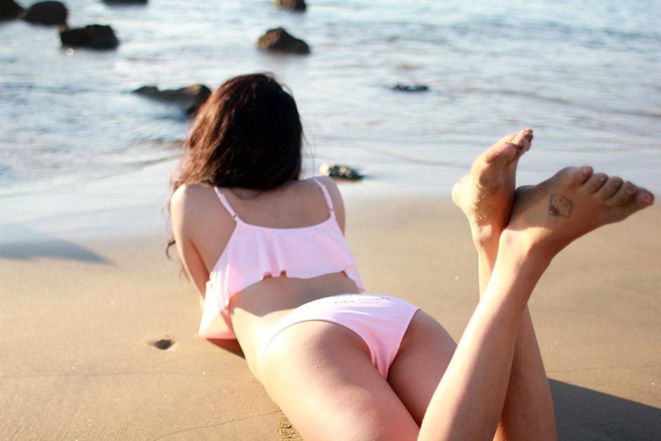 Wildfox Couture Pina Colada Swimsuit