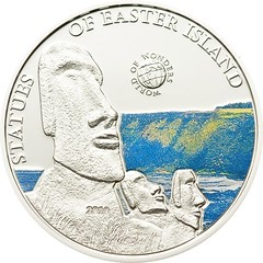 Easter island coin obverse