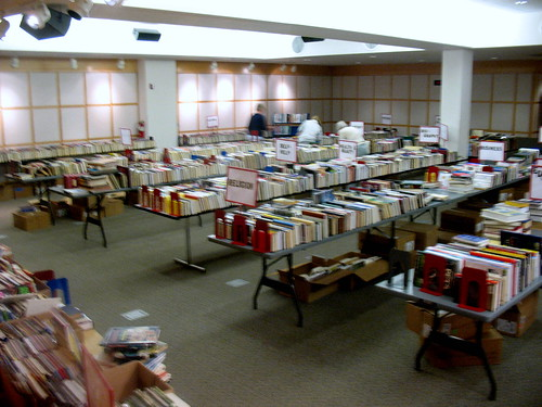 Friends of the Library used books  sale