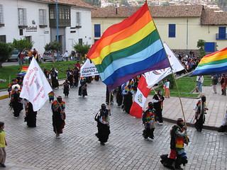 Andean flags