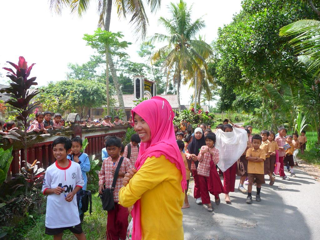 school Lombok Indonésie