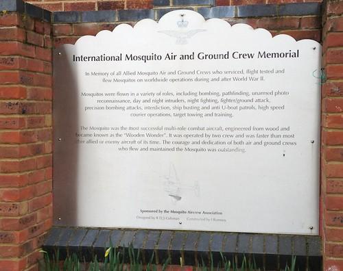 Mosquito Memorial