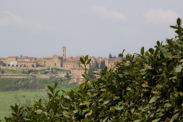 View From Palazzo Begliomini in Tignano