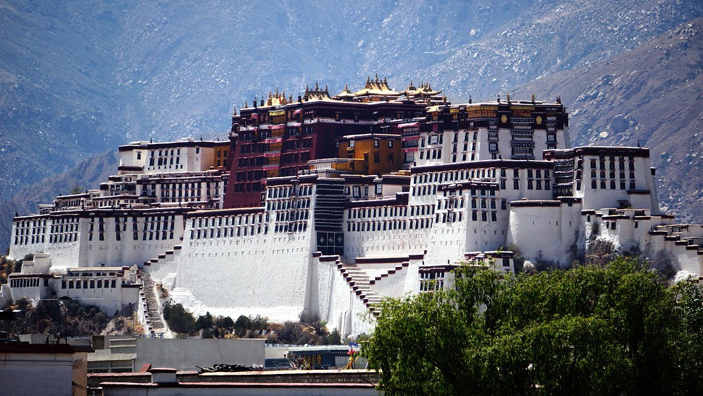 Potala Palace from Pilgrimage route
