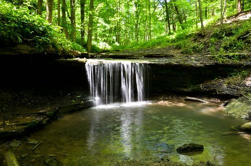 Settlers Cabin Park Waterfall