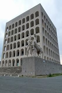 Rom EUR-Gelände: Palazzo della Civiltà Italiana 3