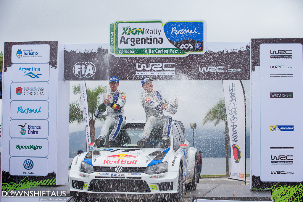 WRC competitors compete in Heat 3 of Rally Argentina on stages west of Cordoba.