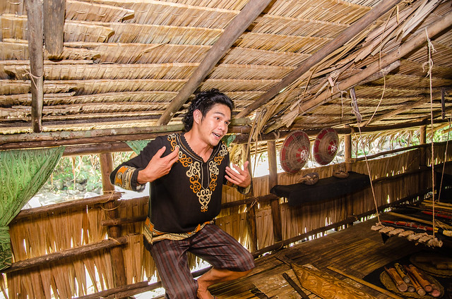 Visiting Mari Mari Cultural Village during Sabah Trip