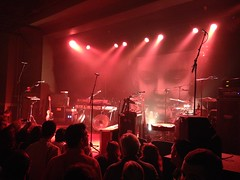 Empty stage before the band came on. Elbow, Wonder Ballroom.