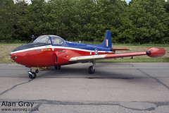 G-BXBH BAC P.84 JET PROVOST T3A PACW6322  - 25052014 - Bruntingthorpe - Alan Gray - IMG_9429