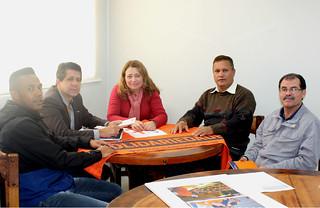 Professora Elenice, presidente do Solidariedade de Juquiá, tem reunião com direção estadual do partido em São Paulo