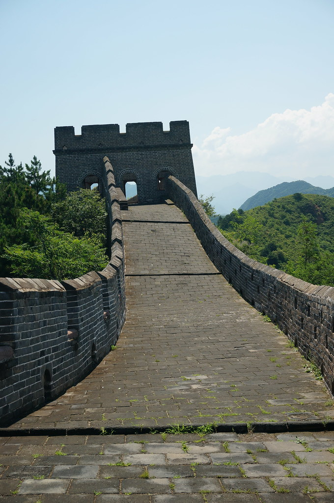 Path leading to tower on The Great Wall