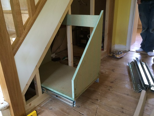 Under Stairs Drawers wip understairs pull out drawers : projects, workshop tours and