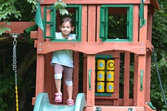 playhouse, outdoor play equipment, play, playground,