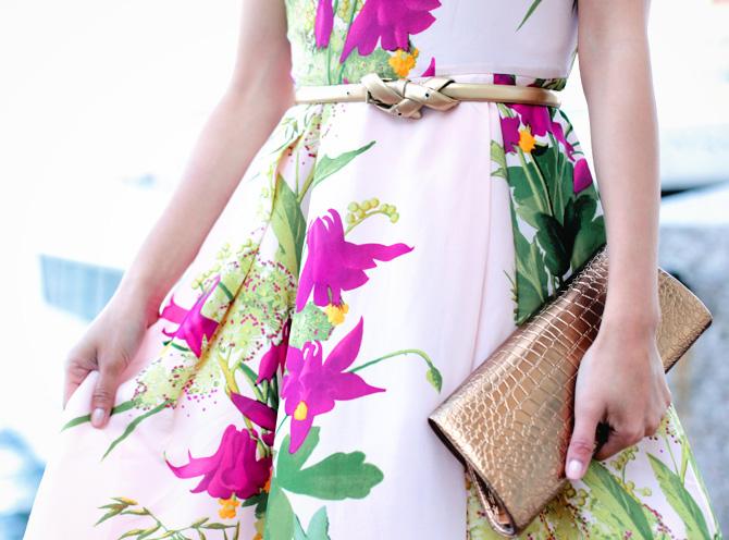 ted baker floral dress2