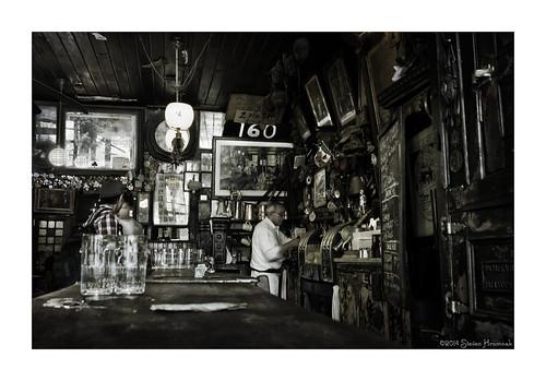 old nyc newyorkcity irish eastvillage bar tavern bartender mcsorleys 1854 7thstreet sawdust mcsorleysoldalehouse wishbones established1854