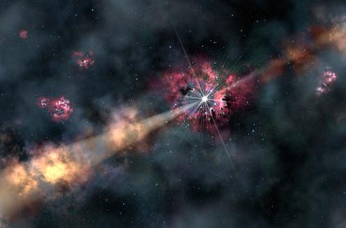 Gama ray burst