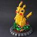 Pikachu Figurine. by Lego Junkie.