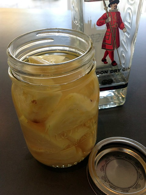 Pineapple-infused gin