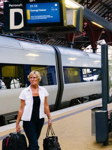 Tren del Oresund en Copenhague