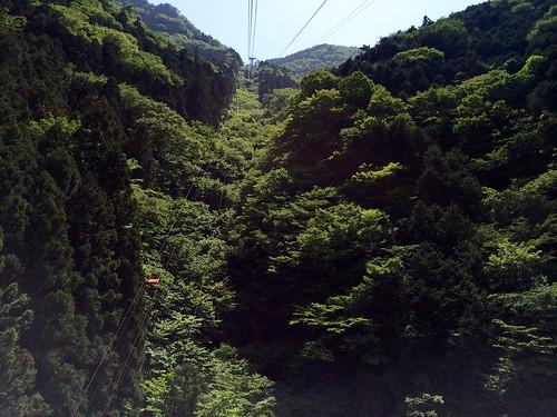 japan roadtrip mount shikoku ropeway ehime ishizuchi