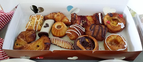 The Danish Pastry House: Assorted Danishes