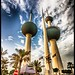 Kuwait Towers by Billy Wilt