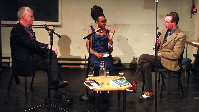 Nnedi Okorafor & Ken MacLeod Scottish Pen talk 07